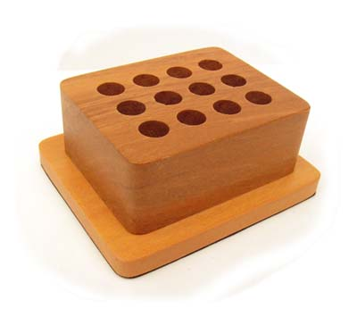 Wooden Stand for Metal Punches, Stamping Tools