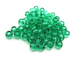 Matsuno - Japanese Glass Seed Beads - 11/0 - 10g Transparent Sea Green