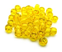 Matsuno - Japanese Glass Seed Beads - 11/0 - 10g Transparent Yellow