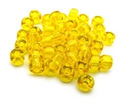 Matsuno - Japanese Glass Seed Beads - 11/0 - 10g Transparent Yellow
