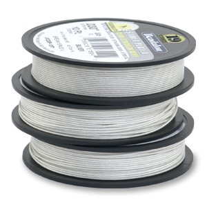 Beadalon Stringing Wire 19 Strands .012 (.30mm) 15 ft/4.6m Fine Silver Plated
