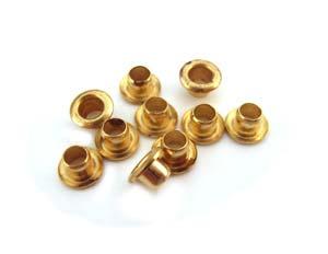 """1/8"""" Brass Eyelets 3x3mm"""