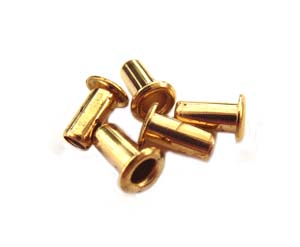 "1/8"" Brass Eyelets 7x3mm (x5 pc)"
