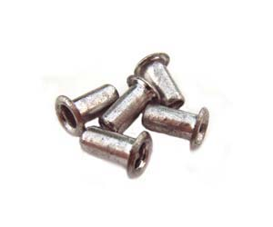 1/8 inch Silver Tone Eyelets 7x3mm (x 5pc)