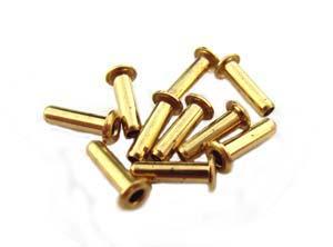 """1/16"""" Brass Eyelets 6x1.5mm"""