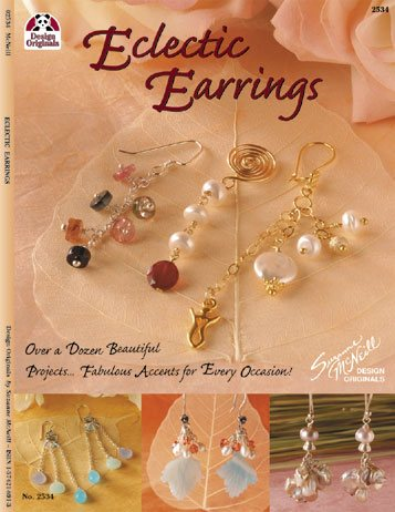 Eclectic Earrings - Design Originals Book