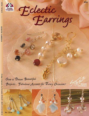 Eclectic Earrings - Design Originals Book