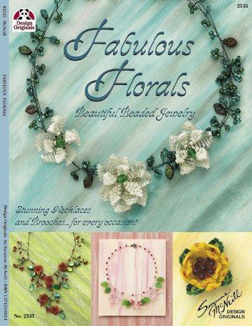 Fabulous Florals - Beautiful Beaded Jewellery - Design Originals Book