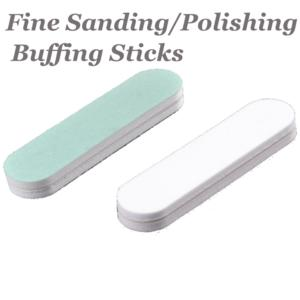 High Polish Finish Buffing Block, Fine for Metal Blanks x1 9x2x0.8cm (per x1 peice)