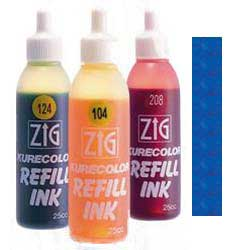 ZIG Kurecolor Alcohol Ink by Kuretake 317 Blue - 25ml Bottle