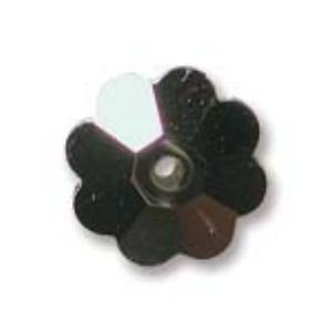 Swarovski Crystal Beads 10mm Margarita Flower - Crystal Metalic Gold Foiled x1