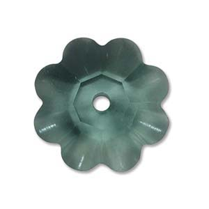 Swarovski Crystal Beads 6mm Margarita Flower - Erinite x1