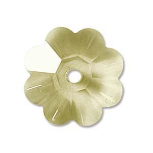 Swarovski Crystal Beads 8mm Margarita Flower - Jonquil x1