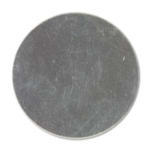 """Sterling Silver Circle 14.3mm 9/16"""" 24g Stamping Blank x1"""