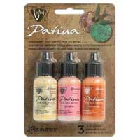 Vintaj Patina Kit Pack, Sunset in Morocco by Ranger x3 0.5oz Bottle Pack