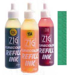 Green 508 ZIG Kurecolor Alcohol Ink by Kuretake - 25ml Bottle