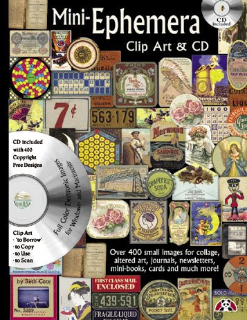 Mini Ephemera - Design Originals Book with CD