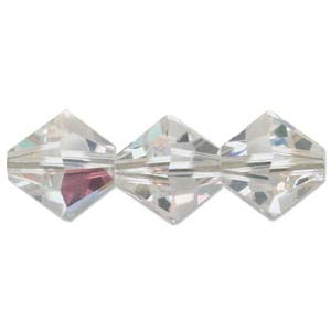 Swarovski Crystal Beads Bicone 3mm Crystal AB