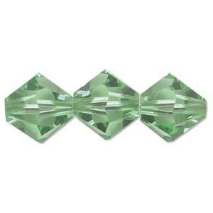 Swarovski Crystal Beads Bicone 6mm Peridot