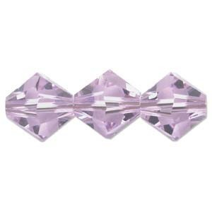 Swarovski Crystal Beads Bicone 6mm Violet