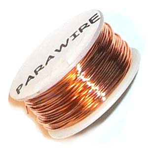 ParaWire - SQUARE Wire 18g Copper Natural non Tarnish per Spool