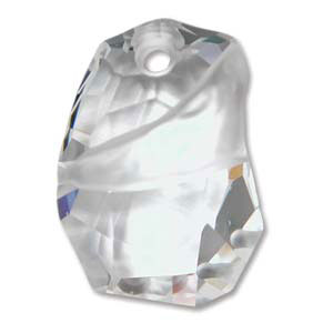 Swarovski Crystal Pendants Divine Rock - Top Drilled 27mm Crystal x1