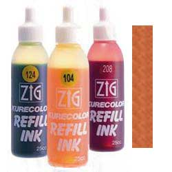 Brown 705 ZIG Kurecolor Alcohol Ink by Kuretake - 25ml Bottle