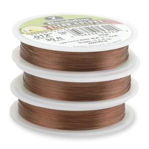 Beadalon Stringing Wire 7 Strands .015 (.38mm) 30 ft/9.2m Pink
