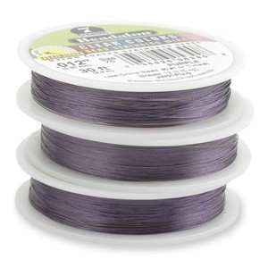 Beadalon Stringing Wire 7 Strands .015 (.38mm) 30 ft/9.2m Purple