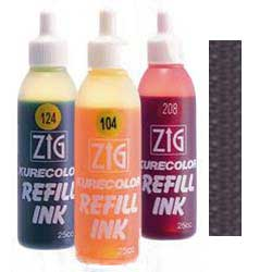 Black 900 ZIG Kurecolor Alcohol Ink by Kuretake - 25ml Bottle