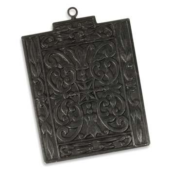 Vintaj Arte Metal 44.5x32.5mm Etruscan Antiquity Pendant