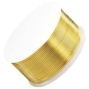 ParaWire - Wire 24g Gold non Tarnish per Spool