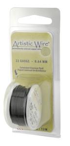 Artistic Wire 20ga Black per 6 yd (5.5m) Dispenser Roll (CLONE) Double check sizes etc
