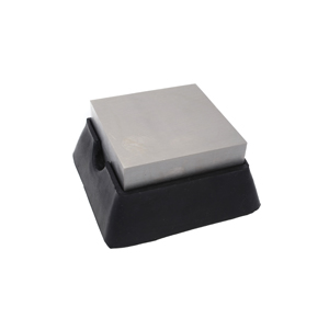 Beadsmith Bench Block with Cushion Base 2.5x2.5 inch - Jewellers Tool BB24