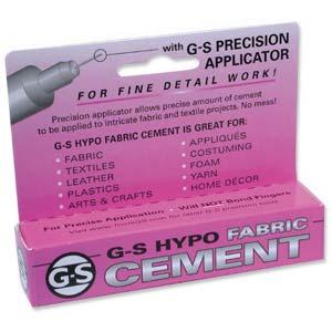 G-S Hypo Fabric Cement (Purple box) 1/3 fl oz