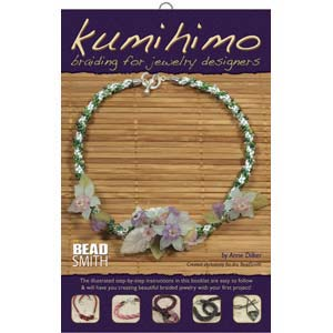 Kumihimo Braiding for Jewellery Designers by Anne Dilker