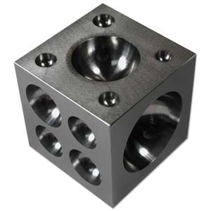 "Doming Block - Tempered Steel - 2.5x2.5""~ Jewellers Tool"