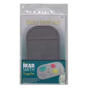 Beadsmith Sticky Bead Mat 5.5x3.25 inch, (14x8.5cm) x1