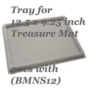 Beadsmith Bead Mat Tray, (for 12.5x9.25 in Treasure Mat)