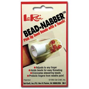 LoRan Bead-Nabber for picking up seed beads