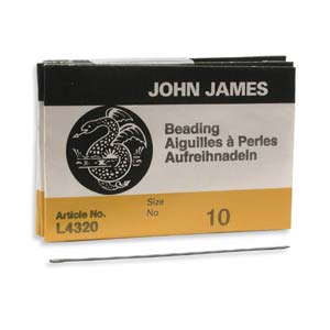 John James - L4320 010 English Beading Needles x25