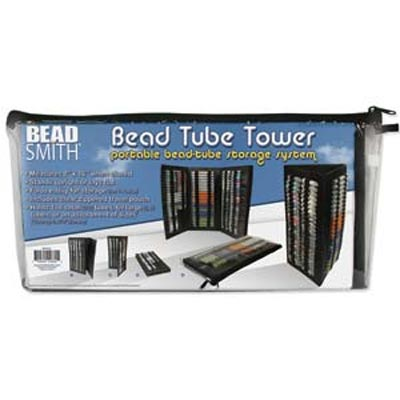 Beadsmith - Bead Tower I Portable Bead Tube Storage