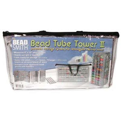 Beadsmith - Bead Tower II Portable Storage for Flip-Top Boxes