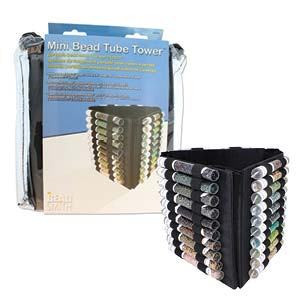 Beadsmith - Bead Tower Portable Bead Mini Tube Storage