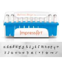 ImpressArt Ballroom Boogie 3mm Alphabet Lower Case Letter Metal Stamping Set