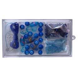 Beading Kit for Jewellery Making - Blue