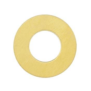 Brass Washer 24g Stamping Blank 19.1mm