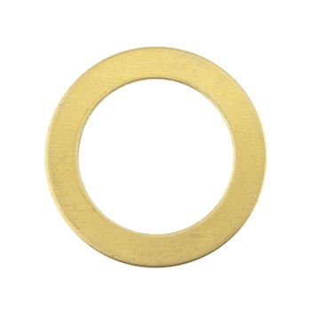 Brass Washer 24g Stamping Blank 22.2mm