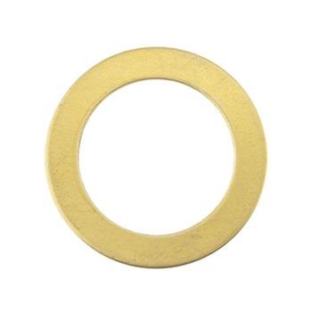 Brass Washer 24g Stamping Blank 22.2mm