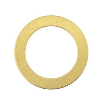 Brass Washer 24g Stamping Blank 26mm (5mm band)